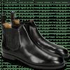 Ankle boots Susan 10 Black Elastic Glitter