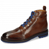 Ankle boots Trevor 5 Mid Brown Laces Blue