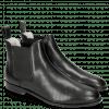 Ankle boots Susan 10 Salerno Perfo Black Elastic Black