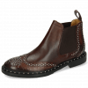 Ankle boots Sally 45 Big Croco Mogano