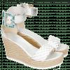 Sandals Abby 2 Cherso Raffia Silver