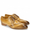Derby shoes Ricky 8 Perfo Cashmere Nude