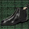 Ankle boots Susan 10 Black Elastic Glitter Black Lining Nappa Beige HRS