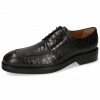 Derby shoes Parker 1 Crock Black Lining Genevra