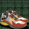Sneakers Kobe 1 Suede Pattini Pompe White Sun Bluette Dark Brown