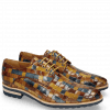 Derby shoes Brad 7 Woven Multi Wood Wind Nude Olivine