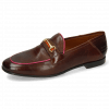 Loafers Scarlett 45 Pisa Mid Brown Binding Fluo Fuxia