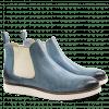 Ankle boots Sally 25 Salerno Perfo Aqua Elastic Off White XL Malden White