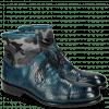 Ankle boots Patrick 4 Guana Mid Blue Textile Camo