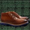 Ankle boots Felix 1  Big Croco Wood RP-01 Blue