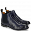 Ankle boots Xenia 1 Perfo Navy