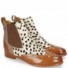 Ankle boots Selina 29 Tan Hairon Wildcat Canvas Taupe