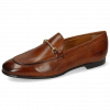 Loafers Scarlett 22 Pisa Tan Trim Gold Lining