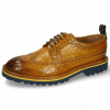 Derby shoes Matthew 23 Crock Indy Yellow Dark Finishing