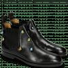 Ankle boots Susan 10 Black Resin Bubbles