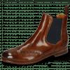 Ankle boots Selina 6 Wood Elastic Navy Flex