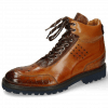 Ankle boots Trevor 28 Crock Cognac Mid Brown Navy