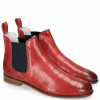 Ankle boots Susan 10 Vegas Turtle Perfo Ruby Elastic Navy