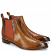 Ankle boots Toni 6 Camel Dark Brown