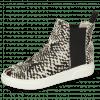 Ankle boots Hailey 15 Hairon Snake Elastic Black