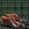 Derby shoes Clint 4 Crock Mid Brown Deco Pieces