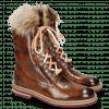 Ankle boots Amelie 81 Turtle Wood Tongue Fur Lionel