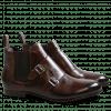 Ankle boots Sally 27 Crust Dark Brown Elastic Dark Brown HRS