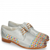 Derby shoes Selina 14 Vegas Clear Water Interlaced Multi