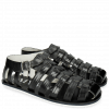 Sandals Sam 3 Black Modica White