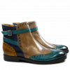 Ankle boots Amelie 11 Turquoise Smog Navy Sun Strap Turquoise LS