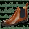 Ankle boots Jessy 4  Cognac Elastic Navy