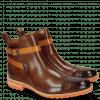 Ankle boots Eddy 9 Crock Wood Strap Orange