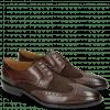 Derby shoes Victor 2 Rio Mogano Suede Pattini Brown