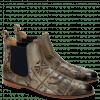 Ankle boots Susan 10 Folk Laser Oxygen Elastic Navy