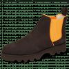 Ankle boots Susan 70 Como Dark Brown Orange Nappa