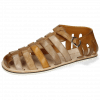 Sandals Sam 3 Imola Dark Chocolate Ash Tortora Camel Chestnut