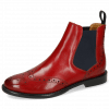 Ankle boots Selina 6 Ruby Elastic Navy Lining