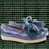 Loafers Bea 4 Timor Turquoise Tassel Multi New Malden White