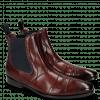 Ankle boots Elvis 12 Burgundy Dark Finish