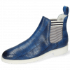 Ankle boots Susan 10  Vegas Turtle Perfo Mid Blue Elastic Oxford