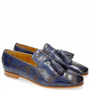 Loafers Scarlett 20 Moroccan Blue Lasercut Folk