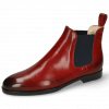 Ankle boots Susan 10 Ruby Elastic Navy Lining Nappa Beige