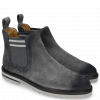 Ankle boots Susan 10 Suede Pattini Stone Shade Navy