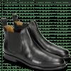 Ankle boots Susan 10 Rio Black Elastic Black Lining Rich Tan