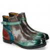 Ankle boots Amelie 11 Abyss Grigio Hairon Breeze Blue Winter Orange