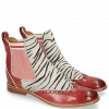 Ankle boots Amelie 43 Ruby Hairon Young Zebra Binding Grafi