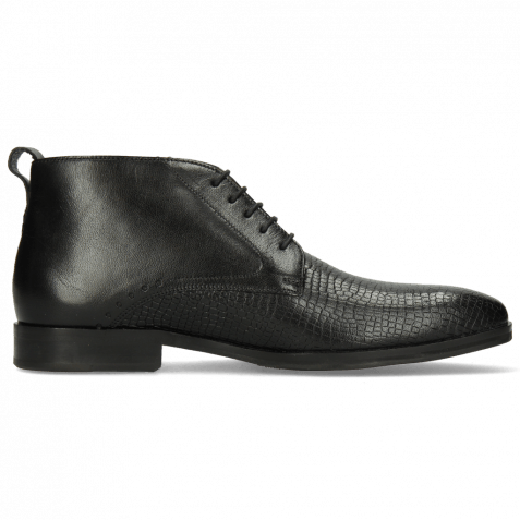Ankle boots Greg 5 Venice Skink Black HRS