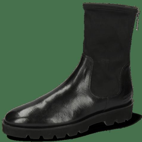 Ankle boots Susan 69 Imola Black Stretch Destino