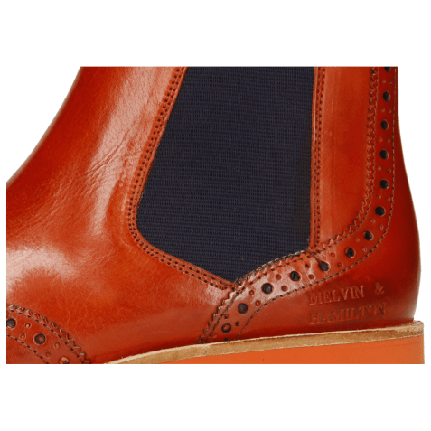 Ankle boots Selina 6 Winter Orange Elastic Purple