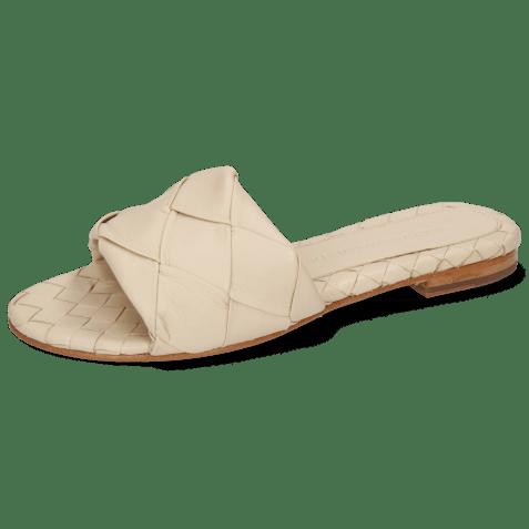 Mules Hanna 67 Nappa Ivory Lining